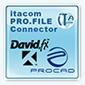 itacom PRO.FILE Connector zu Tobit David